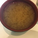 ココ カフェ - 味噌汁(´∀`)