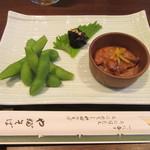 東京赤坂 やぶそば - 「三点盛り」