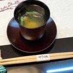 せき根 - 料理写真:河豚のお吸い物