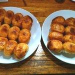 餃子の丸満 - 20110531 餃子3人前 1.5×2皿