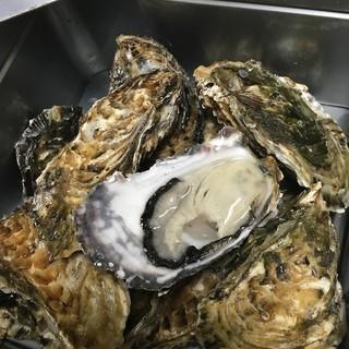 【名物料理】牡蠣のカンカン焼き