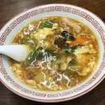 新珍味 - 半ターロー麺('18/02/14)