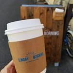SUNDAY MORNING coffeestand -