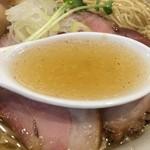 かしわぎ - 塩スープ