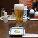 リンガーハット - 生ビール