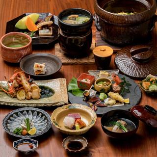 【新年会にも◎】材料にこだわった旬食材の月替わりコース