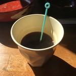 ぴかる - 食後のサービスコーヒー