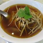 水新菜館 - 葱肉麺