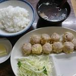 一芳亭 - 料理写真:シュウマイ定食♪