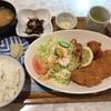 21世紀 - 料理写真:白身魚と若鶏の唐揚げセット