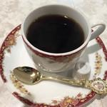 21世紀 - ランチセットのコーヒー