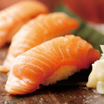 栄寿司 - サーモン