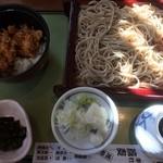 Echigoya - ♪今日のミニ丼せいろ(若鶏天丼(小)せいろ)¥790