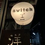 洋食とBar Switch - 看板
