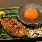 鳥桜 - つくね(卵黄)
