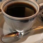 カフェ・アンセーニュ・ダングル - 一杯目のカップ