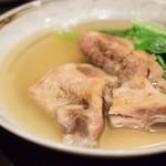80957622 - ソーキの塩煮込み@830円+税