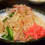遊食家 ゆがふ - ソーメンちゃんぷるー@680円+税