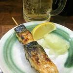 豊田屋 - 焼き鯖串