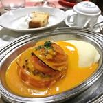 80961091 - 丸ごとトマトの肉詰めロースト プロヴァンス風