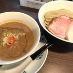 らぁ麺 紫陽花 - 濃厚つけ麺、大盛