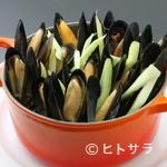 白雪ブルワリーレストラン長寿蔵 - 長寿蔵名物『ムール貝のワイン蒸し』