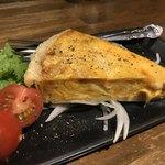 月ふたつ - ウニと葱とチーズのキッシュ