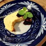 喫茶室・らんぷ - チーズケーキ350円