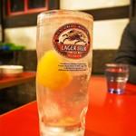 ラーメン 赤組 - 生レモンサワー