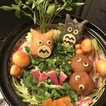 ツキと寿っぽん - となりのトトロ鍋