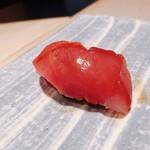 鮨 麻生 平尾山荘 - 料理写真:赤身様