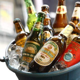 今夜はボトルビールで乾杯!珍しいアジアンビールが勢揃い♪