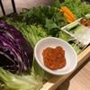 焼肉本舗 ぴゅあ - 料理写真:包み野菜セット