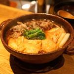 高太郎 - 小鍋肉豆腐