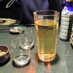 京急蒲田のひもの屋 - デキャンタ白