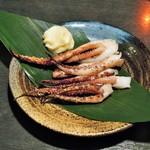 京急蒲田のひもの屋 - イカゲソ