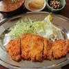 美好 - 料理写真:ロ-スカツ定食