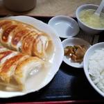 80975156 - 餃子定食