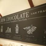 ダンデライオン・チョコレート - 黒板