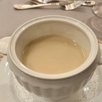80977775 - 香り高い蕪のクリームスープ