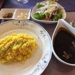 レイクウッドゴルフクラブレストラン - やわらか牛タン黒カレー