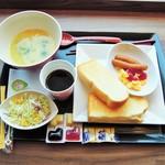 京急EXイン羽田 - 料理写真:2/11日の朝食