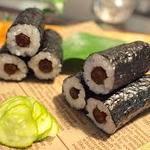 栄寿司 - 味噌ごぼう巻