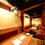 フレンチ小料理バル megane - テーブル個室(20名様まで)