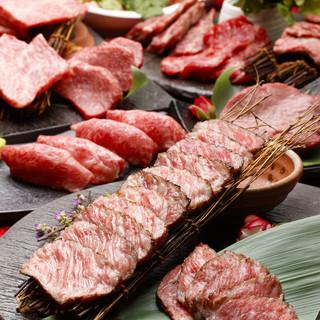 赤身塊肉も味わえる肉三昧◇龍舞コース(2.5h/飲み放題付)