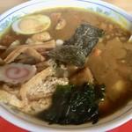 丹波光実食堂 - 料理写真:カツカレーラーメン 750円