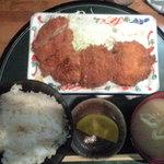 都筑 - 料理写真:クリコロ定食 750円
