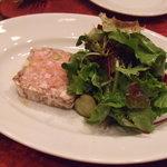 イタリア田舎料理 ダンロ - 豚肉のテリーヌ。