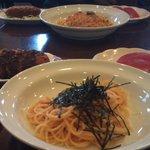 玉寿し すしやのスパゲッティ - パスタランチ