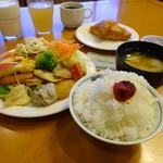 ホテルルートイン - 朝食